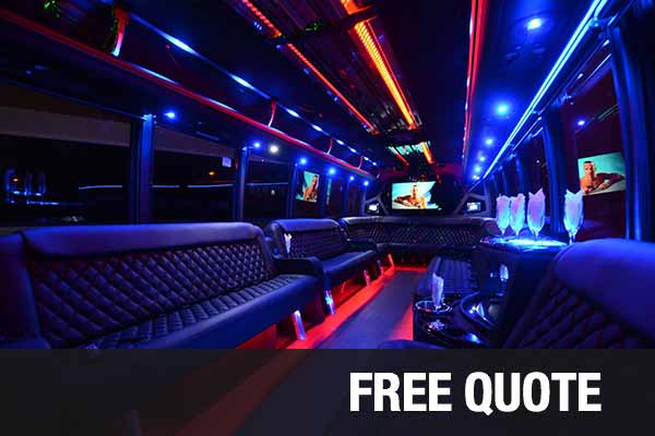 Wedding Transportation party buses for rental Honolulu